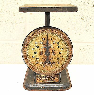 Antique American Cutlery Co. Family Scale New York Vintage General Store Scale