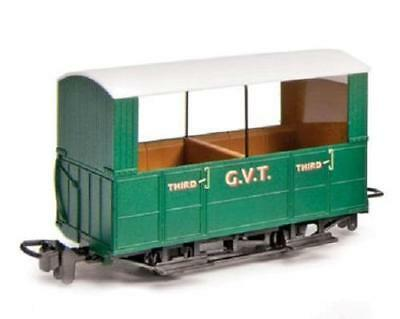 PECO GR-520  OO-9 SCALE Glyn Valley Tramway 4-wheel Open Sided Coach