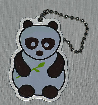 Bamboo the Panda Travel Tag. Trackable. Unactivated. Geocaching.