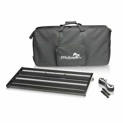 Palmer MI Pedalbay 80 Lightweight Variable Pedalboard With Protective Softcas...