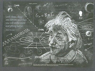 Jersey-Einstein-Science min sheet mnh 2016
