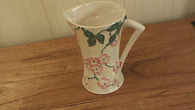 Maling APPLE BLOSSOM Lustre Jug vintage 1930s Pinks/Green free shipping