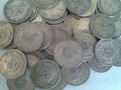 Great Britain Silver Threepence (1920-1946) - (1) Coin lot