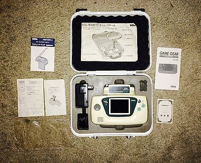 System Console Sega GAME GEAR White Blanche Limited, Full Work