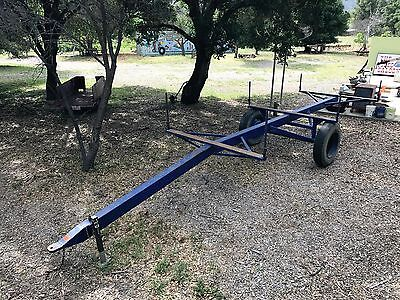 Sprinkler Pipe / Industrial Pipe Trailer - Off road use only - Over 30 ft long