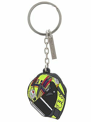 Classic & Authentic Valentino Rossi Black Helmet Keyring (LIMITED EDITION)