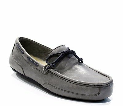UGG Australia Chester Mens Loafers Slippers Moccasins - Metal - Size 7 - 13