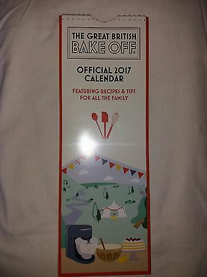 Official Great British Bake Off 2017 Calendar  (New)