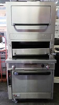 """Southbend P32D-3240 32"""" Gas Heavy Duty Gas Upright Radiant Broiler-Steakhouse"""
