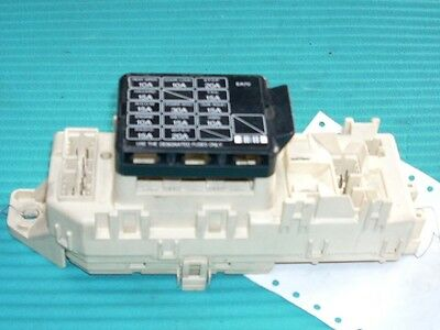 1994 Mazda MX-3 Relay Junction Cabin Dash Fuse Box BCM OEM