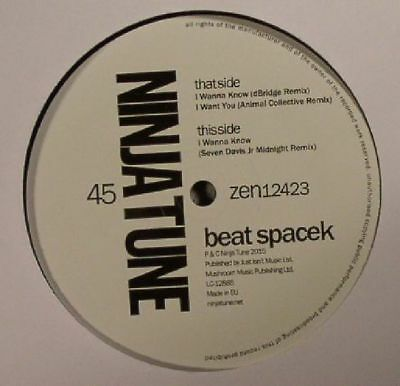 "BEAT SPACEK - Remix EP - Vinyl (12"")"