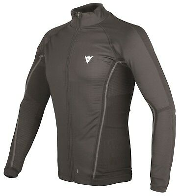 Dainese D Core No Wind Thermal Black Anthracite Motorcycle Function Shirt Warm