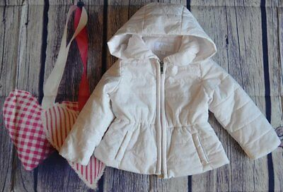 Gucci Baby Girl Designer Romany Pale Pink Coat 6-12 Months VGC