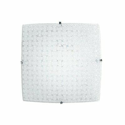 Fan Europe Plafoniera a LED 18 W, Bianco, 30x30