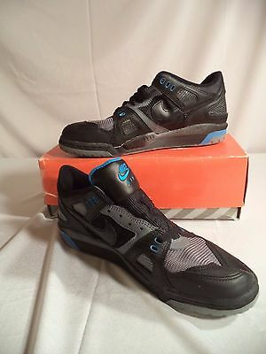 NIKE AIR VOLLEYBALL VTG 1992 MENS SHOES DEADSTOCK BOX SIZE 10 Digs Low top black