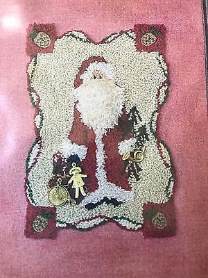 Aunt Susie's House #438 St. Nick Merry Christmas Pattern and Kit Punch Needle