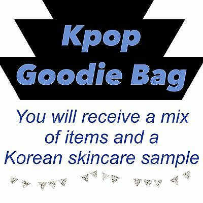 Kpop Small Goodie Bag Grab Bag Bts Svt Exo
