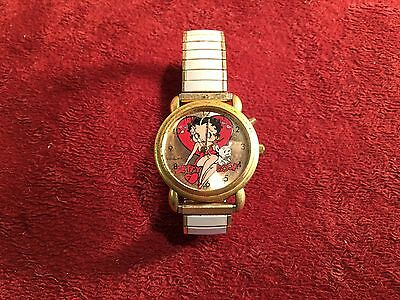 Betty Boop Watch Expansion White Band