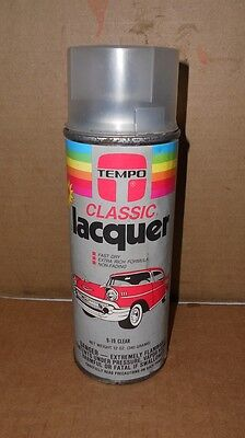 Vintage Tempo Classic Lacquer Spray Enamel Spray Paint Great Graphics