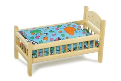 Cot for dolls wood with lingerie game/toy x bambine