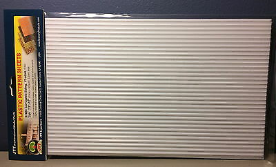 "JTT SCENERY 97404 CORRUGATED SIDING 1:32 #1 SCALE (2) 7.5""x12"" SHEETS JTT97404"