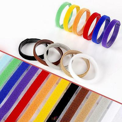 12pcs Puppy Kitten Identification Collar Whelping ID Cotton Collar Bands COLORS