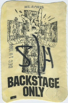 BLACK SABBATH 1981 Mob Rules Backstage Pass Very Rare!