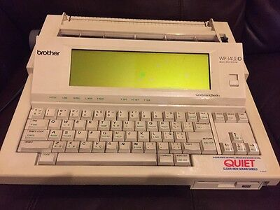 Working!!! Brother WP 1400D Word Processor With Grammar Check - Tested -