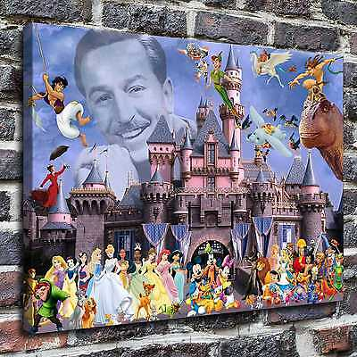 Disney Characters Paintings HD Print on Canvas Home Decor Wall Art Pictures