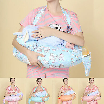 Unique Infant Nursing Breastfeeding Pillow With Shoulder Straps Adjustable UC913