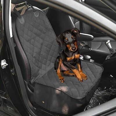 Water Resistant Pet Dog Front Seat Car Seater Cover Covers Protector Mat Cushion