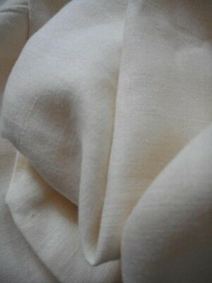 "Antique Linen Cream Off White Creme Sheet 99"" By 88"""