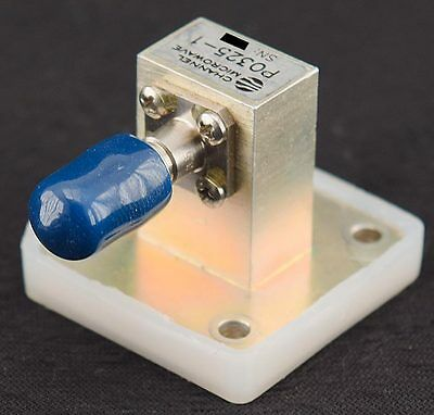 Channel Microwave P0325-1 WR62 12.4-18GHz Waveguide/3.5mm Female Coaxial Adapter