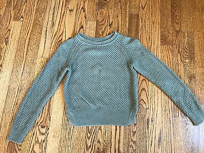 Gap Kids Girls Sweater Army Green size L 10 Y 100% Cotton