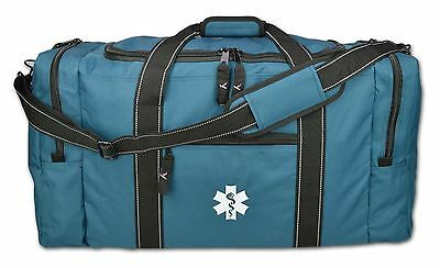 Ems First Responder Emt Medic Rescue Extrication Turnout Gear Bag Lxrb40 Blue