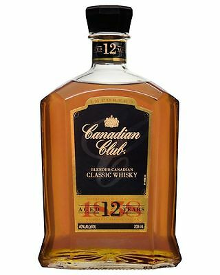 Canadian Club Classic 12 Yo Blended Whisky 700 Ml Boxed