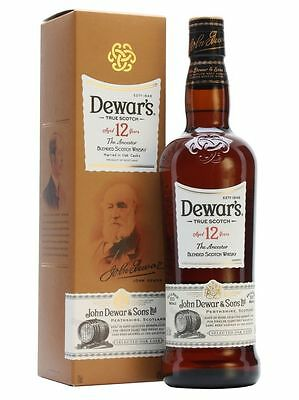 Dewars 12 Yo The Ancestor True Blended Scotch Whisky 700 Ml
