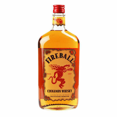 Fireball Cinnamon Blended Liqueur Canadian Whisky 700 Ml