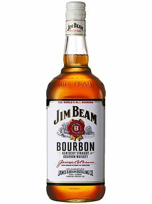 Jim Beam White Label Kentucky Straight Bourbon Whiskey 750 Ml American