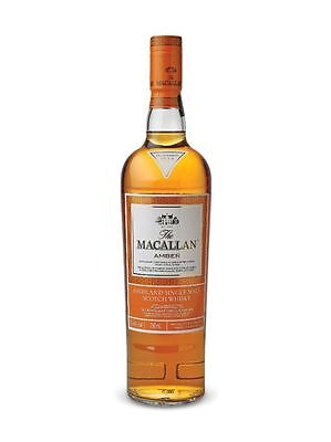 The Macallan Amber 1824 Series Single Malt Scotch Whisky 700 Ml Boxed