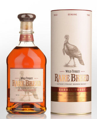 Wild Turkey Rare Breed Kentucky Straight Bourbon Whiskey 700Ml Boxed