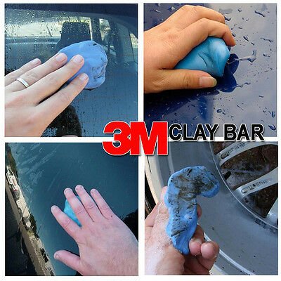 Two Pieces Car Wash Soap Clean Clay Magic Mud Cleaning Bar Detailing Sludge Mud