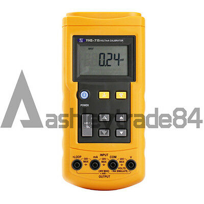 YHS-715 Loop Volt and mA Signal Source Process Calibrator