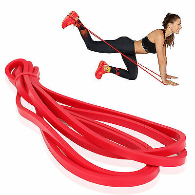 Resistance Loop Gym Fitness Tension Elastic Strength Yoga Exercise Stretch Band
