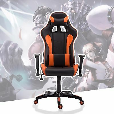 Gaming Chair Racing Style High Back Executive Swilve Ergonomic Office Desk Chair