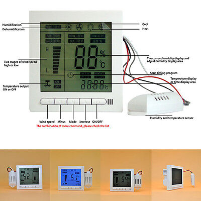 Room Unique Intelligent Digital UC913 Humidity Temperature Controller 110-240V