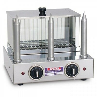 Roband Commercial Hot Dog Unit & Bun Warmer with 3 Spikes Model M3