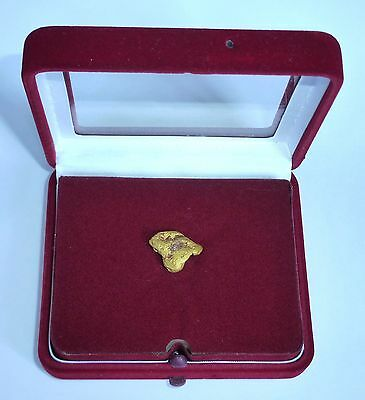 Gold Nugget mit Zertifikat Russland Russia purity 94 %