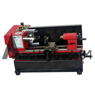 SIEG C0-125-220V Mini Metal Processing Machinery Metal Lathe 50mm w/ 3 Jaw Chuck