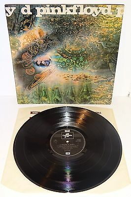 PINK FLOYD SAUCERFUL OF SECRETS ORIGINAL EARLY 1970's COLUMBIA UK PRESSING LP